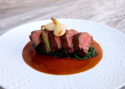 Onglet de boeuf Restaurant Au bon pichet Sélestat