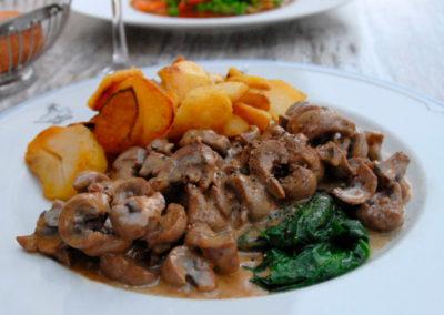 Rognons de veau et pommes sautées maison Restaurant Au Bon Pichet Sélestat