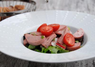 Salade de cervelas maison Restaurant Au Bon Pichet Sélestat