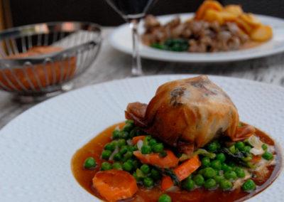 Croustillant de Veau Restaurant Au Bon Pichet Sélestat