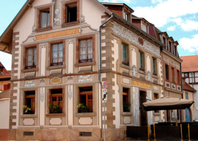 Facade Restaurant Au Bon Pichet