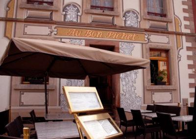 Terrasse restaurant Bon Pichet